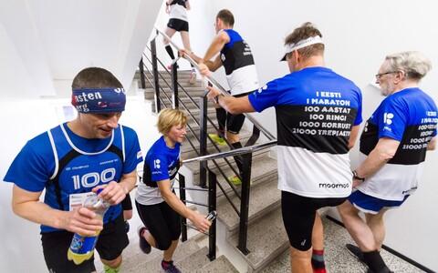 Möödunud aastal korraldati kontorimaratoni esmakordselt EV100 aastapäeva auks