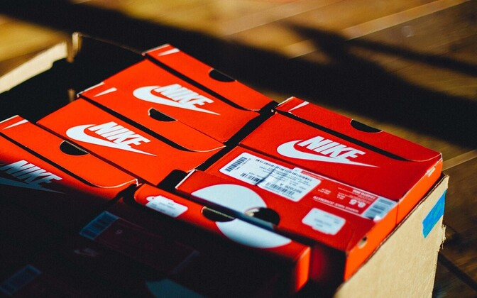 Nike. Иллюстративная фотография.