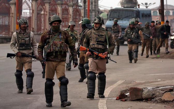 India politseijõud.