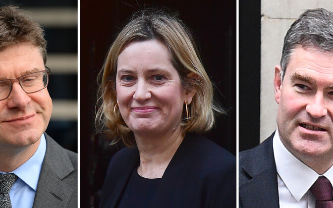 Greg Clark, Amber Rudd, David Gauke.