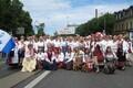 Toronto Estonian Academic Mixed Choir Ööbik at the Song and Dance Festival parade in 2009.