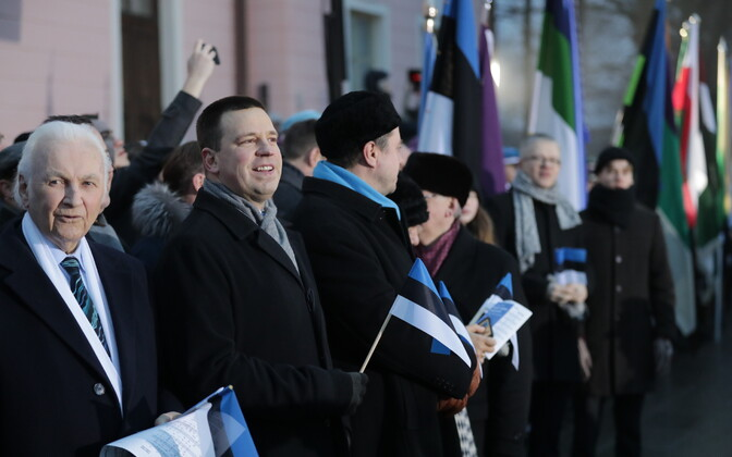 Estonian Independence Day got off to an early start on Sunday morning. 24 February 2019.