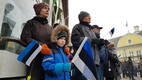 Vabariigi aastapäeva tähistamine Kuressaares