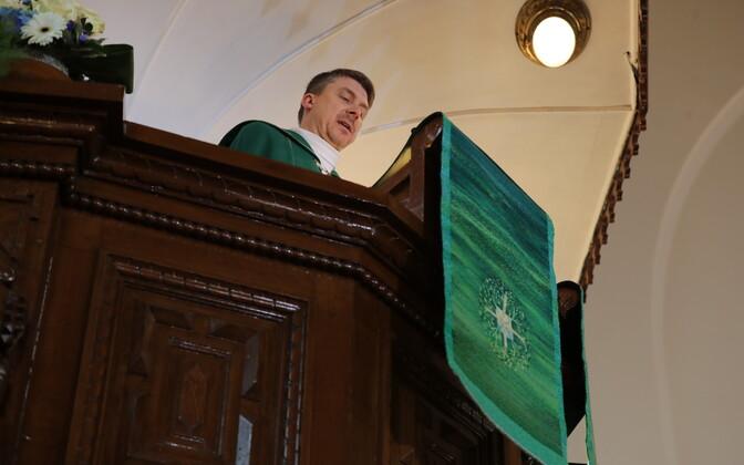 Jumalateenistus Kaarli kirikus
