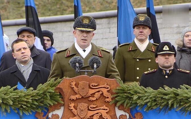 Мартин Херем впервые руководил парадом в честь Дня независимости.