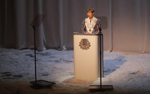 President Kersti Kaljulaidi kõne Estonias