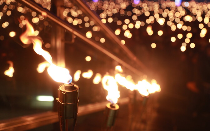 Факельное шествие EKRE
