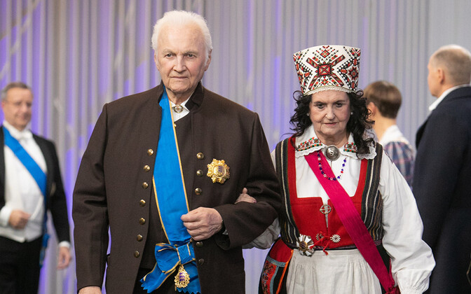 Arnold ja Ingrid Rüütel