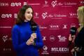 Irina Kikkas-Nõomaa võimlemisturniiri Miss Valentine pressikonverentsil