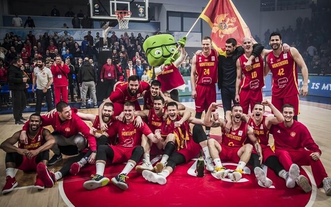 Montenegro korvpallikoondis