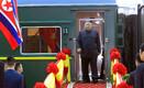 Kim Jong-uni saabumine Vietnami.