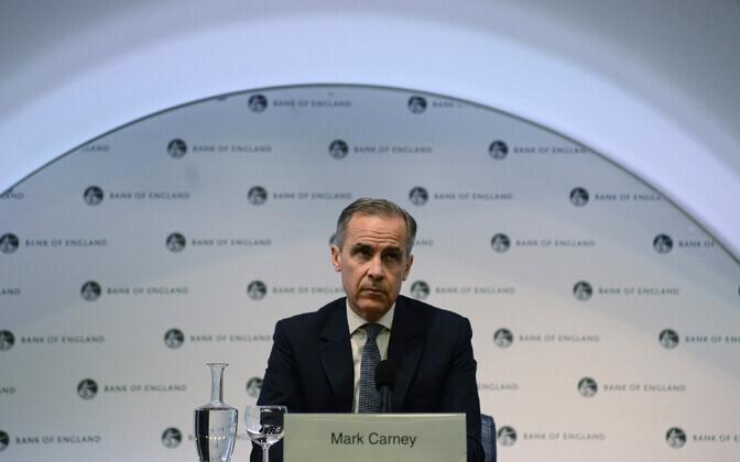Briti keskpanga juht Mark Carney.
