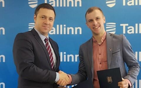Vadim Belobrovtsev ja Rainer Komi
