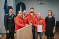 В МВД чествовали лучших спасателей-добровольцев и помощников полицейских