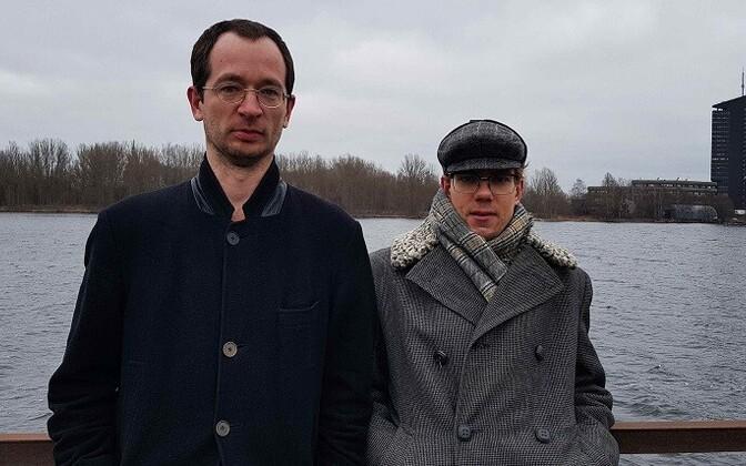 Valts Mikelson ja Indrek Grigor.