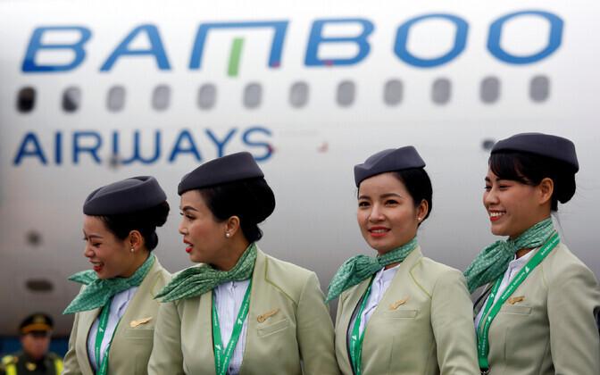 Vietnami lennufirma Bamboo Airways.