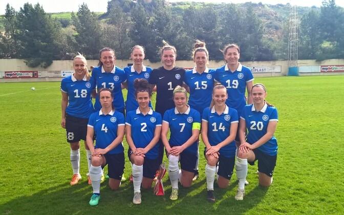 Eesti naiste jalgpallikoondis