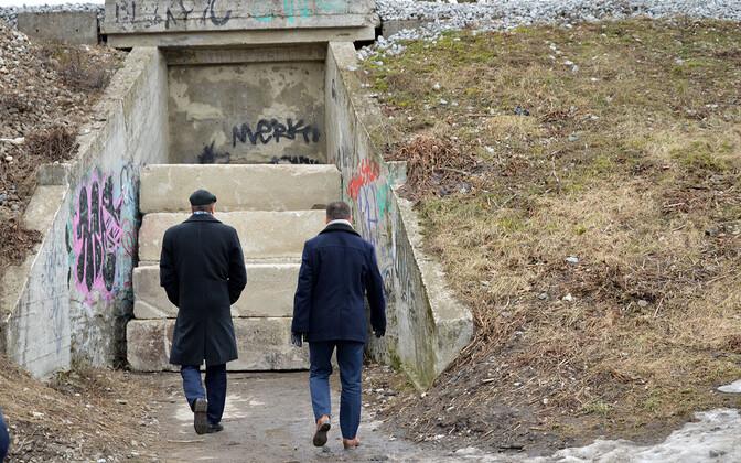 Eesti Raudtee перекрыла туннель, но затем снова его открыла.