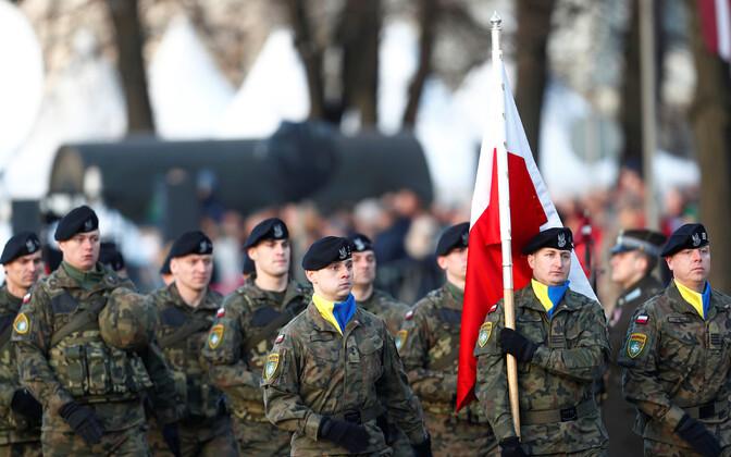 Poola sõjaväelased.