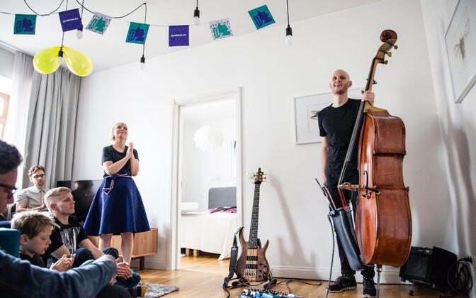 Peedu Kassi kodukontsert 2018. aasta Jazzkaarel