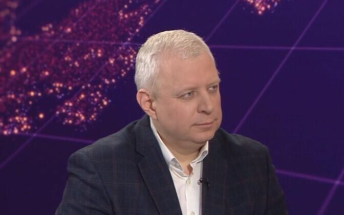 Главный редактор Delfi и Eesti Päevaleht Урмо Соонвальд.