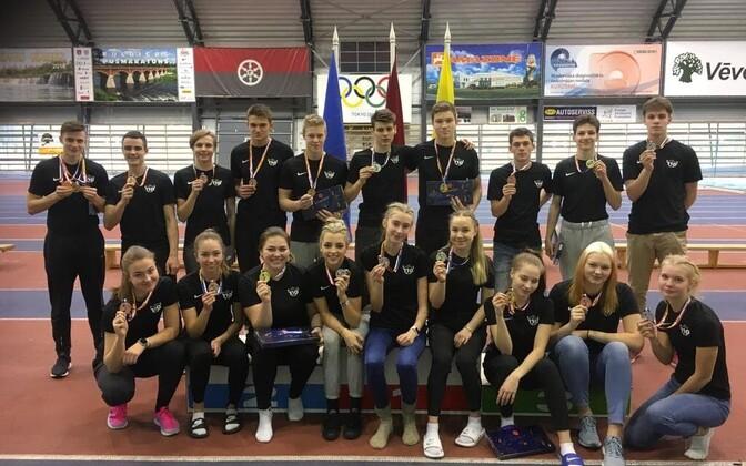 Kergejõustiku Balti meistrivõistluste medalistid