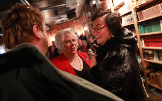 Sotside valimispidu: Marina Kaljurand ja Katri Raik