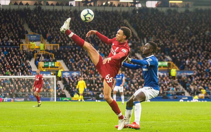 Inglismaa kõrgliigas kohtusid Everton ja Liverpool