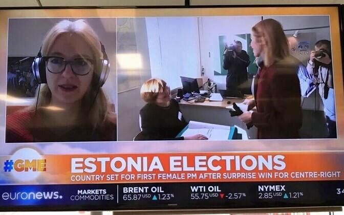 Eesti valimised Euronewsis.