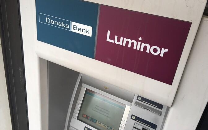 A Danske/Luminor ATM.