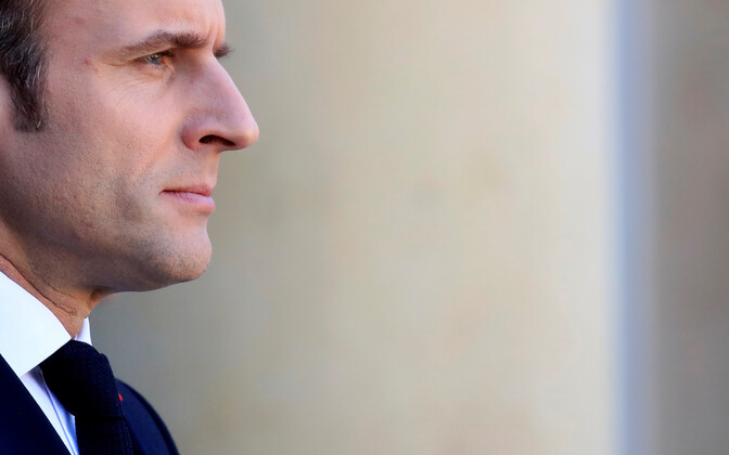 Prantsusmaa president Emmanuel Macron.