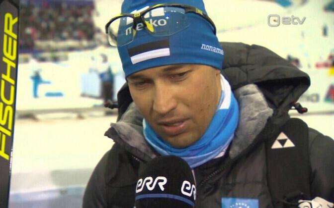 Алго Кярп на Олимпиаде в Пхенчхане.