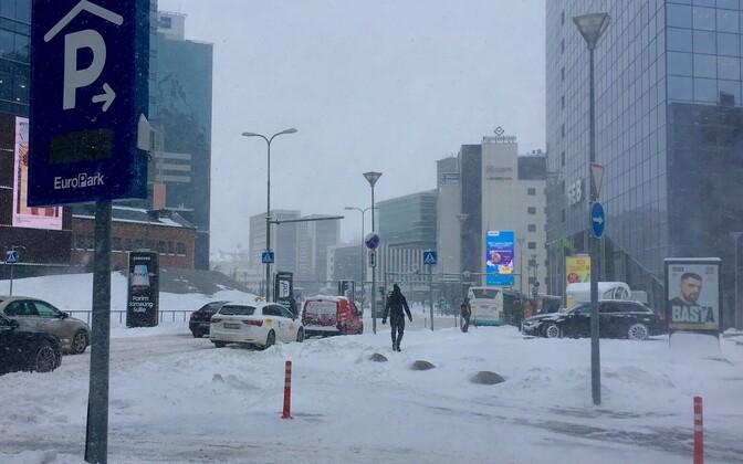Lumesadu 5. märtsil Tallinnas