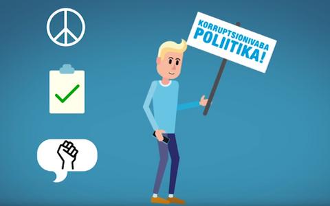 Noored osalevad poliitikas omal moel.