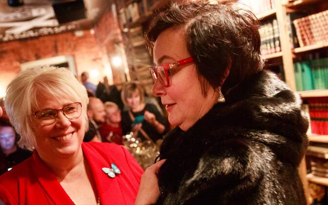 Марина Кальюранд и Катри Райк попробуют попасть в Европарламент.