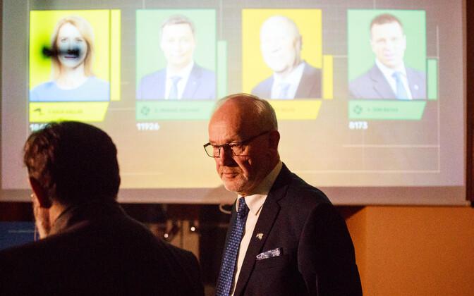 Kaul Nurm astus kehva valimistulemuse tõttu Vabaerakonna esimehe kohalt tagasi.