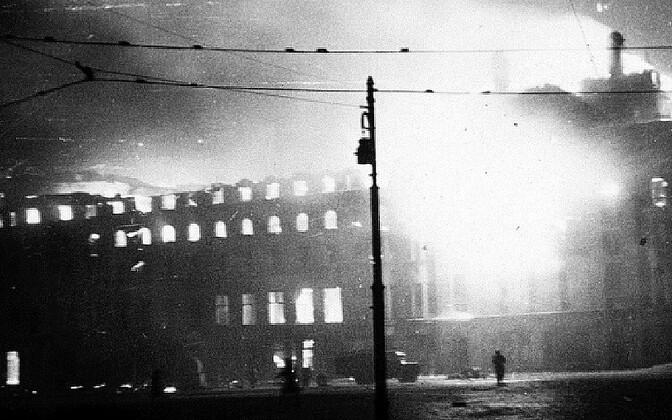 75 лет назад был совершен воздушный налет на Таллинн.