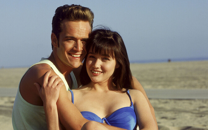 LUKE PERRY ja SHANNEN DOHERTY