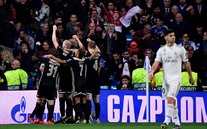 Madridi Real - Amsterdami Ajax