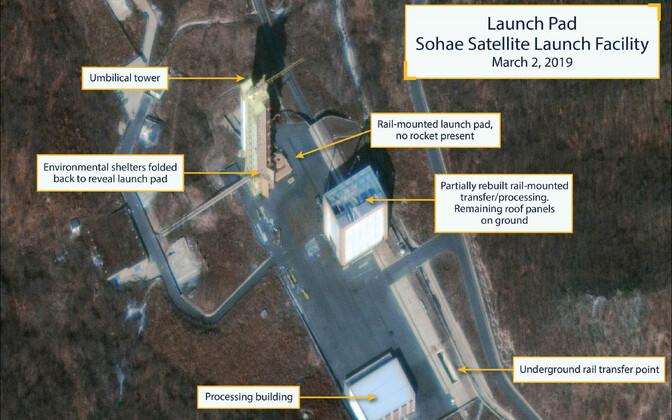 Sohae raketipolügoon Põhja-Koreas 2. märtsil.