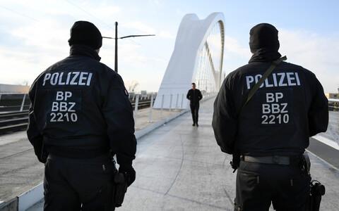 Полиция Германии. Иллюстративное фото.