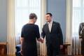 Jüri Ratase ja Kersti Kaljulaidi kohtumine