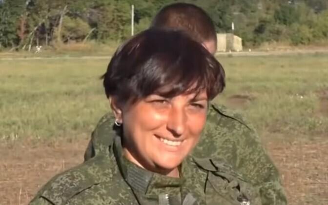 Svetlana Drjuk Kremli-meelsete eest võitlemise päevil.
