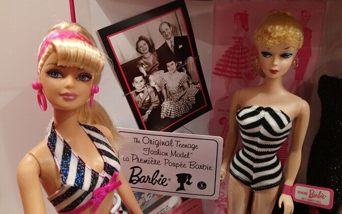 Barbie nukud Tartu Mänguasjamuuseumis.
