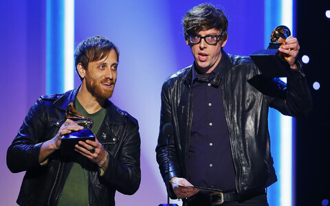 The Black Keys 55. Grammy auhindade jagamisel.