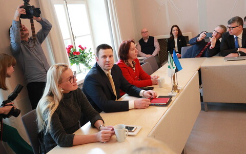 The Centre Party board convened on Friday morning to discuss Reform's invitation to launch coalition talks. 8 March 2019.