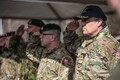 Открытие штаба Северной дивизии НАТО в Адажи.
