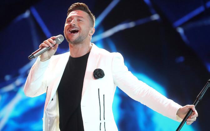 Российский певец Сергей Лазарев.