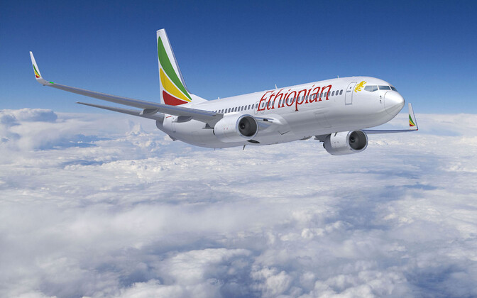 Самолет Ethiopian Airlines. Иллюстративная фотография.