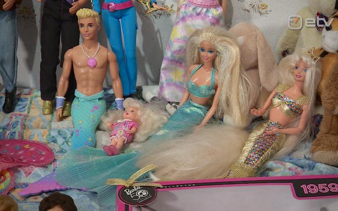 Valik Barbie'sid Tartu mänguasjamuuseumist.
